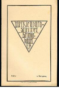 Mecklenburg-Strelitzer Heimatblätter Heft 2, Juni 1930.