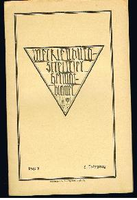 Mecklenburg-Strelitzer Heimatblätter Heft 3, Sept. 1926.