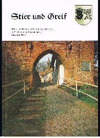 Stier und Greif Blätter zur Kultur- und Landesgeschichte in Mecklenburg-Vorpommern.