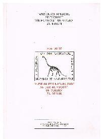 Wissenschaftliche Zeitschrift der Humboldt Universität zu Berlin 200 Jahre Museum für Naturfreunde Mathematisch Naturwiseenschaftlicvhe Reihe Jahrgang XIX (1979) Heft 2/3.