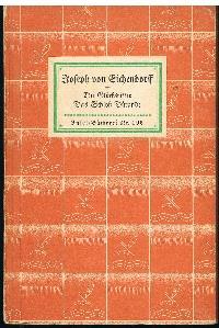 Joseph von Eichendorff: Die Glücksritter Das Schloß Dürande.