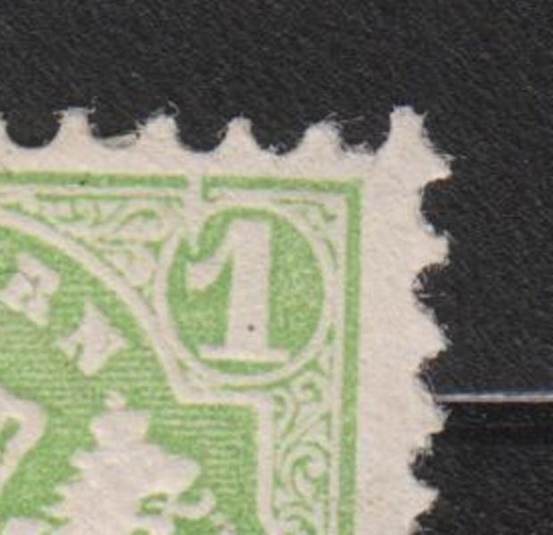 Altdeutschland ( Bayern ) 1875 mit Plattenfehler / 1 kreuzer / Postfrisch / Viererblock