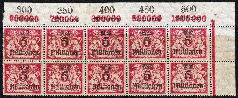 Danzig 1923 Freimarken Mi.Nr. 167 Postfrisch ohne Gummi