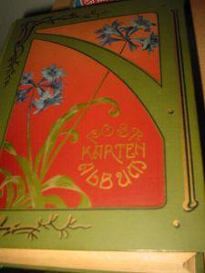 400 alte  ansichtskarten,viele lithos aus deutschland in einem alten album,komplett abgabe.
