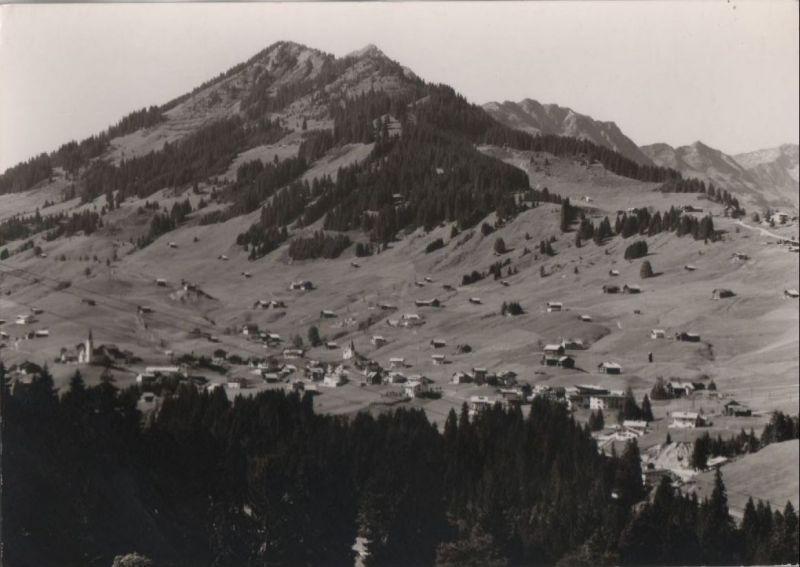 Österreich - Österreich - Kleinwalsertal - Hirschegg mit Heuberg - ca. 1955
