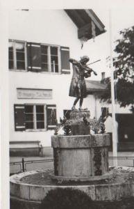 Österreich - Österreich - St. Gilgen - Mozartbrunnen - ca. 1970