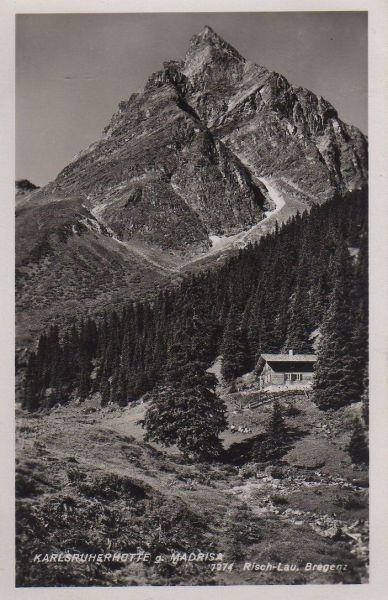 Österreich - Österreich - Sölden - Karlsruherhütte gegen Madrisa - 1939