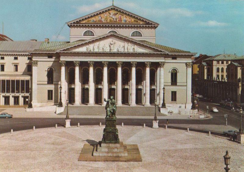 München - Nationaltheater - ca. 1980