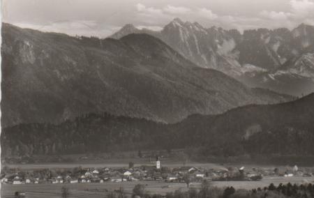 Österreich - Österreich - Grossau/Obb. mit Wildem Kaiser - 1962