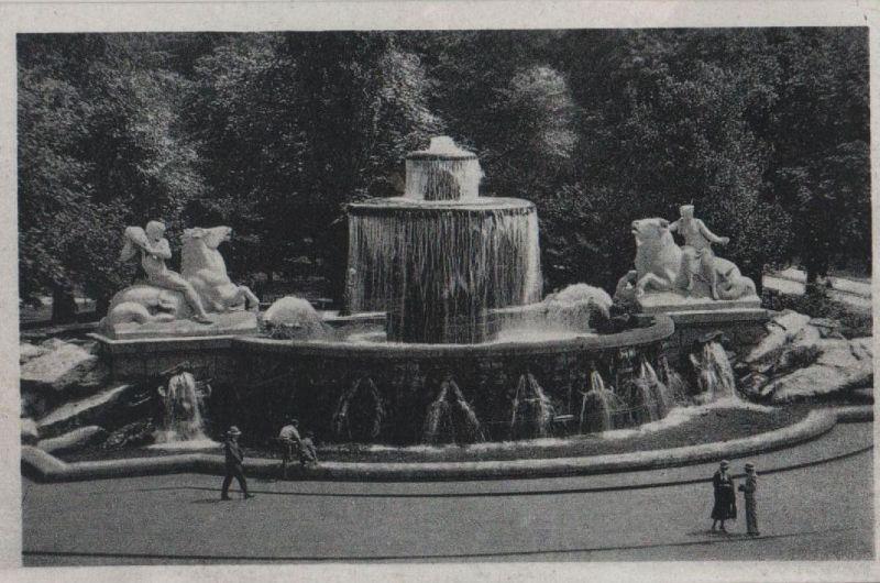 München - Wittelsbacher Brunnen - ca. 1950