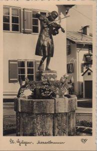 Österreich - Österreich - Sankt Gilgen - Mozartbrunnen - ca. 1955