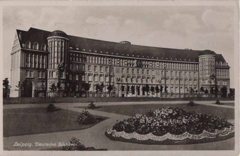 Leipzig - Deutsche Bücherei - 1939