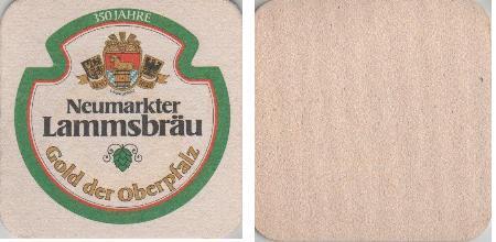 Bierdeckel quadratisch - Lammsbräu