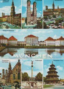 München - u.a.  Schloß Nymphenburg - 1988
