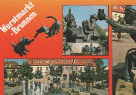 Bad Dürkheim - Wurstmarkt-Brunnen - ca. 1995
