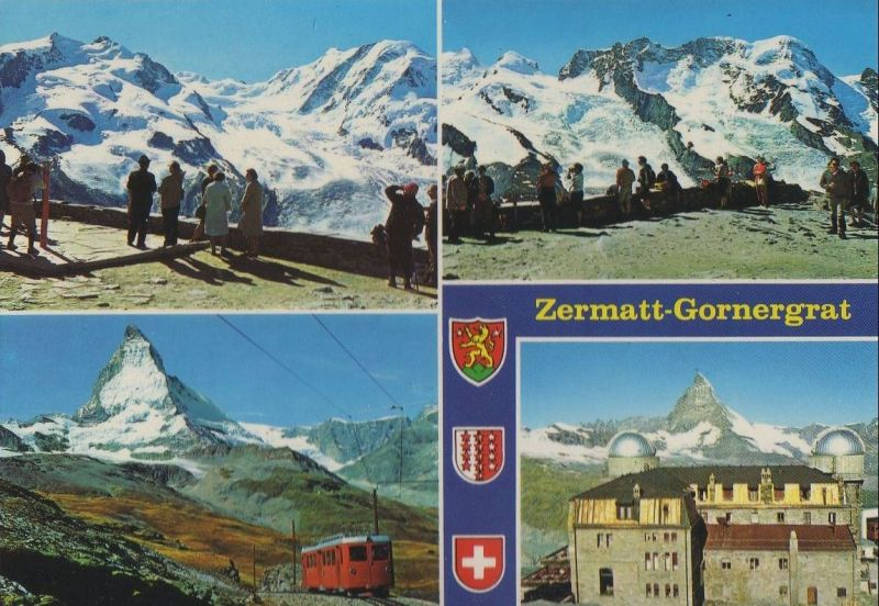 Schweiz - Schweiz - Zermatt - Gornergrat - ca. 1980