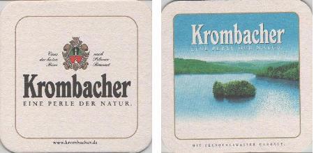 Krombacher Bierdeckel