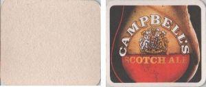 Bierdeckel rechteckig - Campbell Scotch Ale