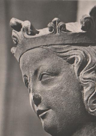 Nürnberg Sebalduskirche - Hl. katharina - ca. 1965