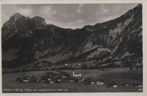 Österreich - Österreich - Grän - mit Aggenstein - ca. 1950