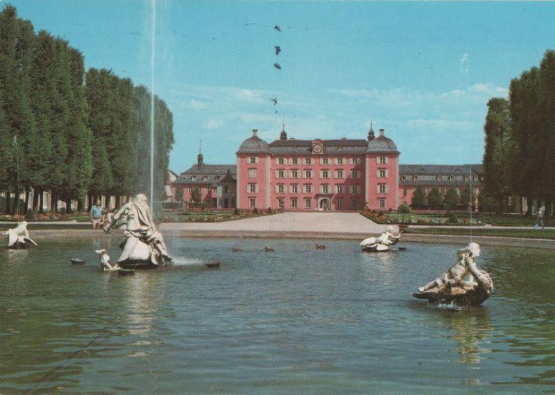 Schwetzingen - Arion mit Schloß - 1989