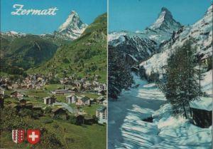Schweiz - Schweiz - Zermatt - mit Matterhorn - 1978