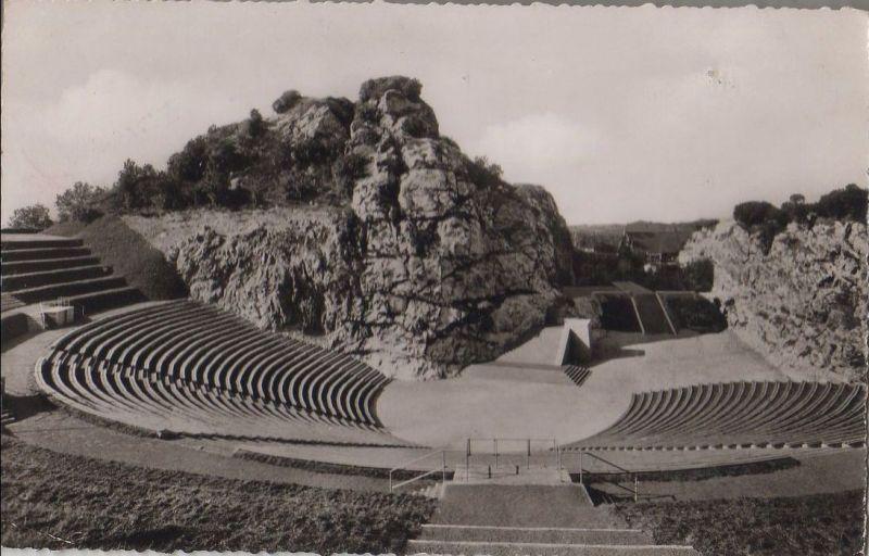 bad segeberg kalkberg stadion 1961 nr 0032232 oldthing ansichtskarten deutschland plz. Black Bedroom Furniture Sets. Home Design Ideas