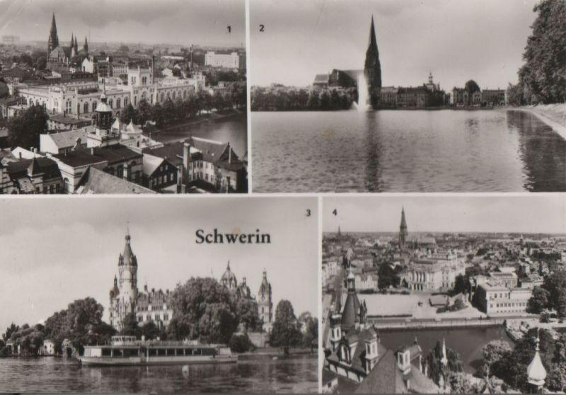Schwerin - u.a. Blick vom Schloß - 1985 0