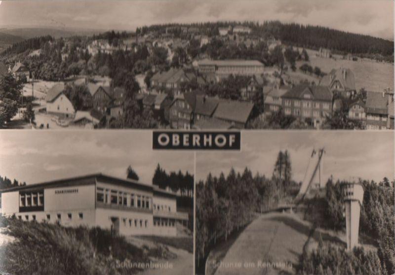 Oberhof - 3 Teilbilder - 1970 0
