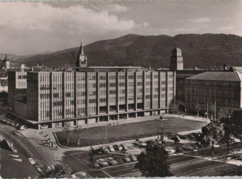 Freiburg - Universität mit Kollegiengebäude - ca. 1960 0