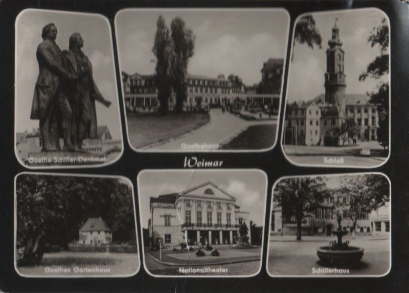 Weimar - u.a. Goethehaus - 1965 0