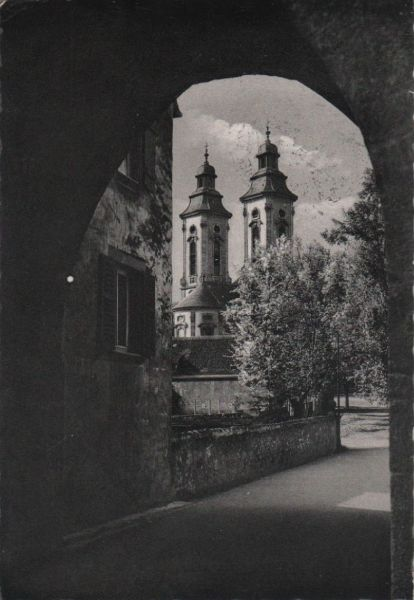 Bad Mergentheim - Schloßkirche - 1958 0