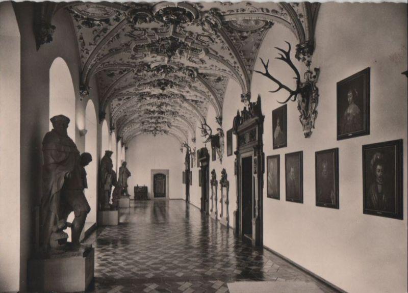 Heidelberg - Schloß, Friedrichsbau, Flurhalle - ca. 1960 0