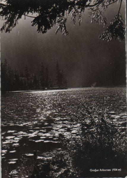 Bayerischer Wald - Großer Arbersee - ca. 1960 0