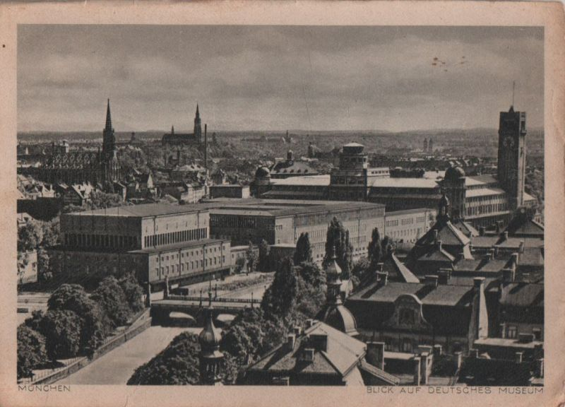 München - Deutsches Museum - ca. 1950 0