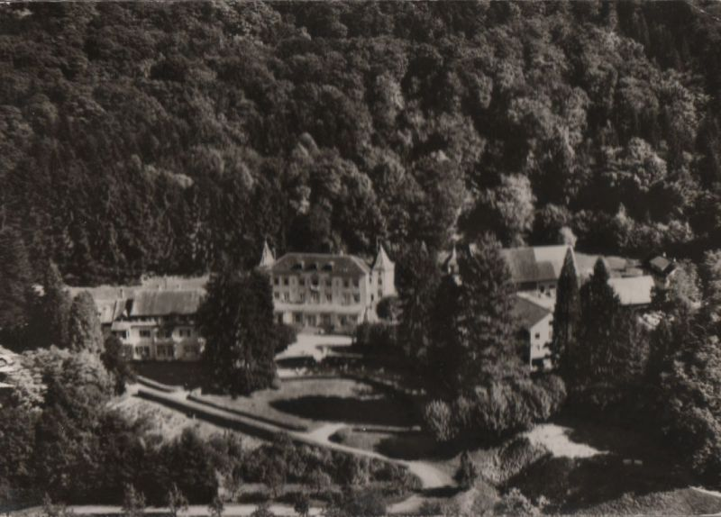 Badenweiler - Sanatorium Hausbaden - 1966 0