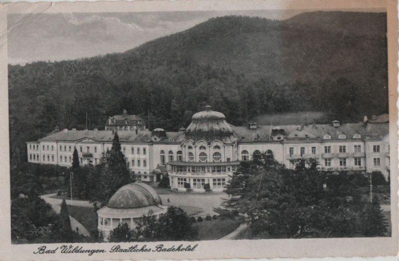 Bad Wildungen - Staatliches Badehotel - 1943 0