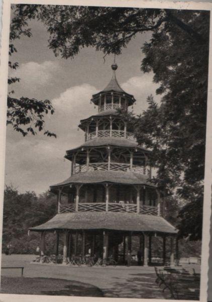 München - Der Chinesische Turm - 1958 0