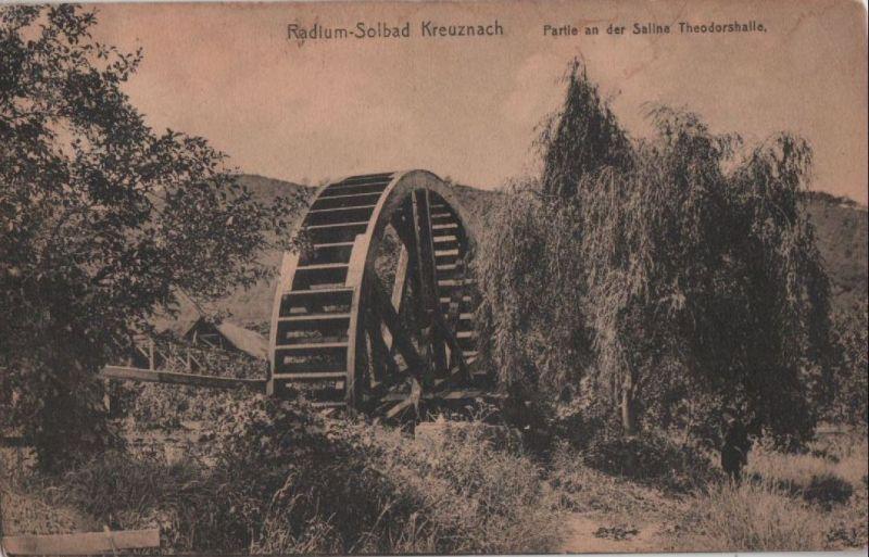 Bad Kreuznach - Partie in der Saline Theodorshalle - 1919 0