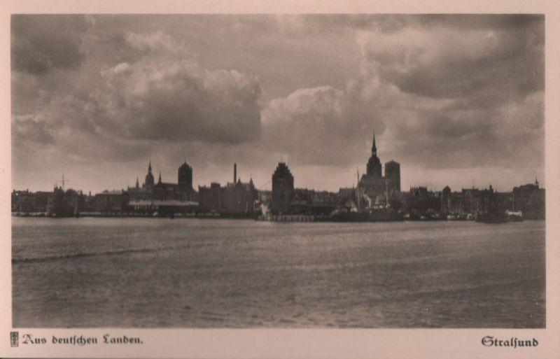 Stralsund - Gesamtansicht - ca. 1950 0