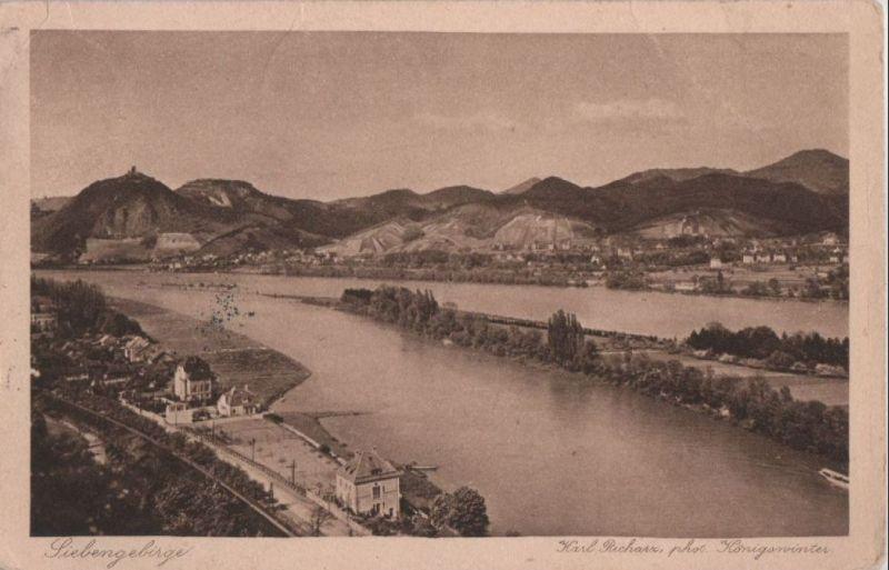 Siebengebirge - zum Verbandstag der Hilfsschulen in Bonn - 1913 0
