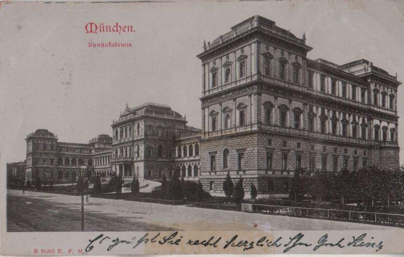 München - Kunstakademie - 1910 0