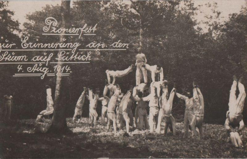 Pionierfest zur Erinnerung an Sturm auf Lüttich - 1914 0