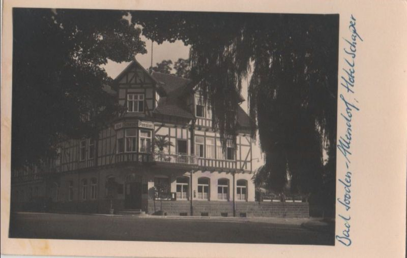 Bad Sooden-Allendorf - Hotel Schaper - ca. 1955 0