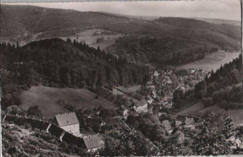 Bad Grund - Blick vom Hübichenstein - ca. 1955 0