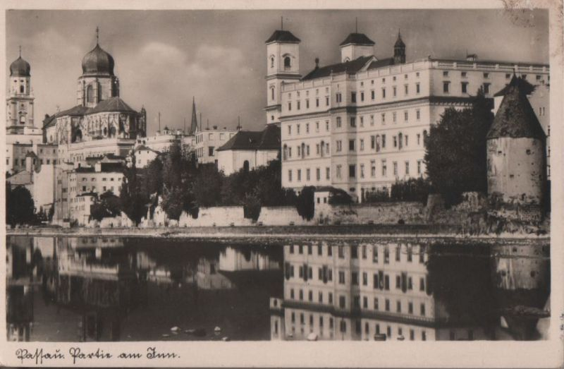 Passau - Partie am Inn - ca. 1950 0