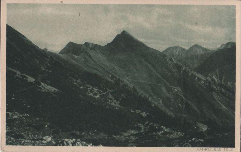 Bad Tölz - Tölzer Hütte - ca. 1950 0