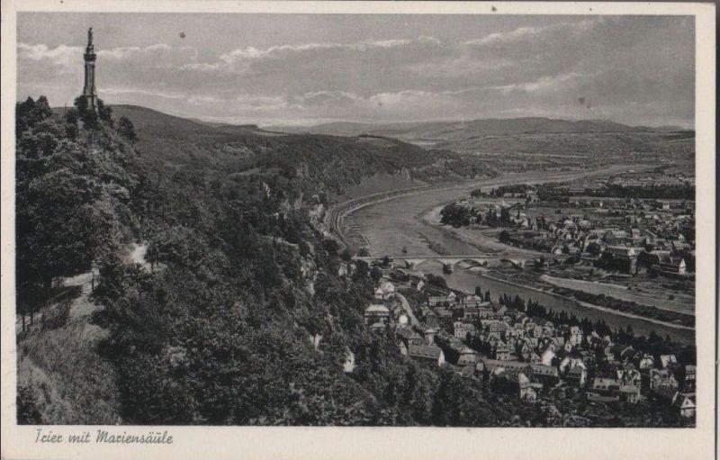 Trier - mit Mariensäule - 1955 0