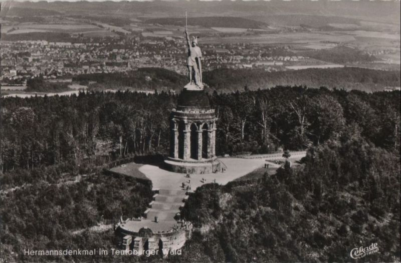 Hermannsdenkmal bei Hiddesen - ca. 1960 0