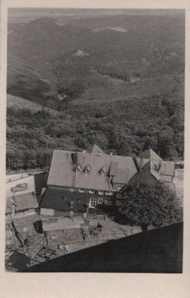 Inselsberg - Blick vom Aussichtsturm - ca. 1955 0